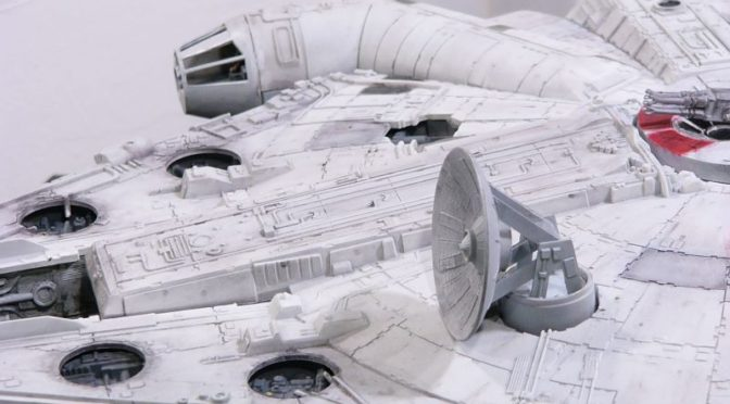 Countdown to Solo: A Star Wars Story – TODAY! – Vintage MPC Millennium Falcon Model