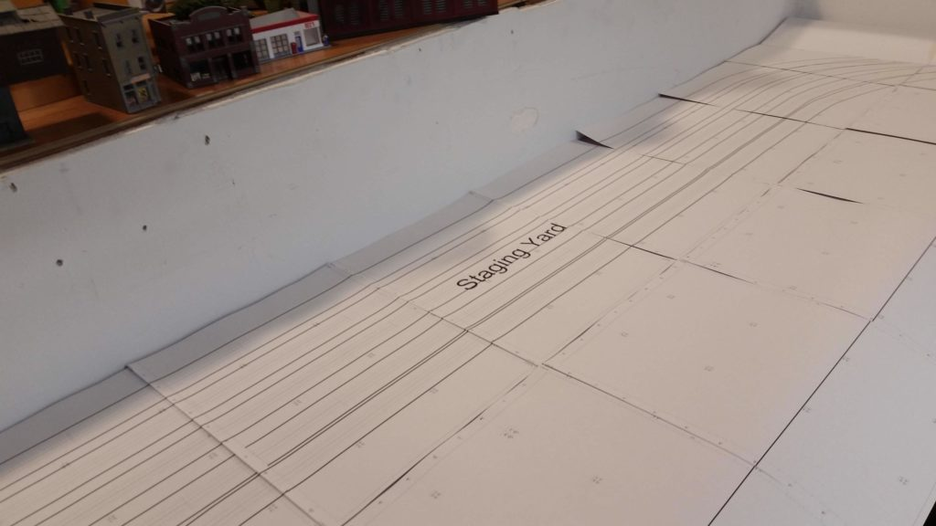 new model railroad build part 2: transfering the track plan